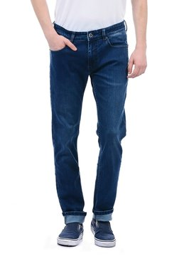 Pepe Jeans Blue Lightly Washed Regular Fit Jeans f085a4363