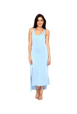 Mystere Paris Blue High Low Maxi Dress