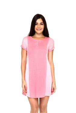 Mystere Paris Pink Night Dress