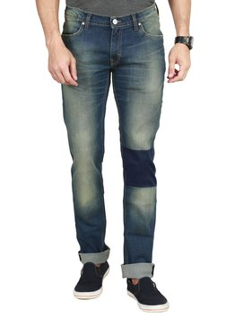 Lee Indigo Low Rise Skinny Fit Jeans