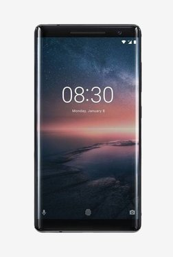 Nokia 8 Sirocco 128 GB (Black) 6 GB RAM, Single SIM 4G