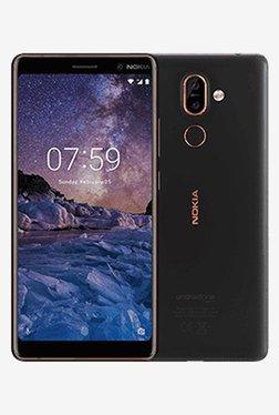 Nokia 7 Plus 64 GB (Black/Copper) 4 GB RAM, Dual SIM 4G