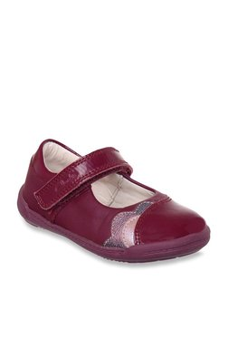 Clarks Kids Purple Mary Jane Shoes