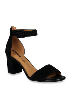 6c0566cd773 Clarks Deva Mae Ankle Strap Black Sandals for women - Get stylish ...
