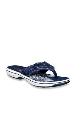 176273bd2173 TATACLIQ. Clarks Brinkley Sea Navy Thong Sandals