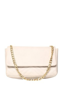 ToniQ Dualist Nude Stitched Quilted Sling Bag