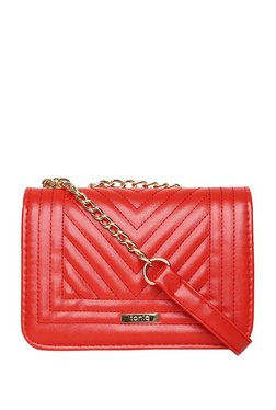 ToniQ Luvina Scarlet Red Quilted Sling Bag