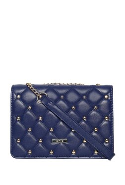 ToniQ Amira Navy Quilted Sling Bag