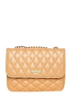 ToniQ Juliet Beige Quilted Sling Bag