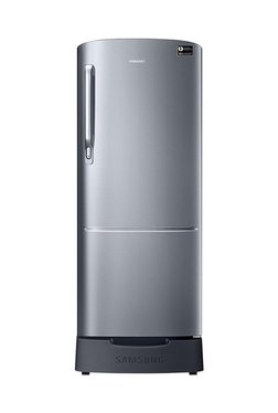 Samsung RR20N182ZS8/HL 192 L INV 3 Star Direct Cool Single Door Refrigerator (Elegant Inox)