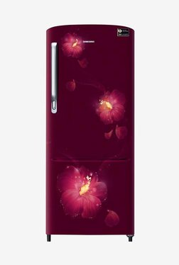 Samsung RR24M275ZR3/NL 230 L INV 3 Star Direct Cool Single Door Refrigerator (Rose Mallow Plum)