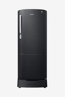 Samsung RR20N182YBS/HL 192 L INV 4 Star Direct Cool Single Door Refrigerator (Black Inox)