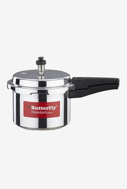 Butterfly Standard Plus 3 Litres Pressure Cooker (Silver)