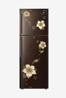 Samsung RT28N3342D2/HL 253L INV 2S Frost Free Double Door Refrigerator (Star Flower Brown)