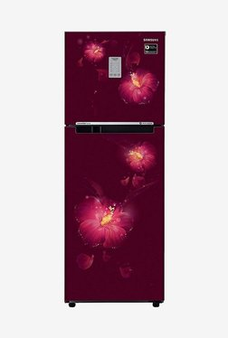 Samsung RT28N3722R3/HL 253L INV 2S Frost Free Double Door Refrigerator (Rosemallow Plum)