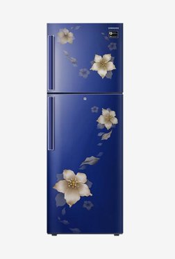 Samsung RT28N3342U2/HL 253L INV 2S Frost Free Double Door Refrigerator (Star Flower Blue)