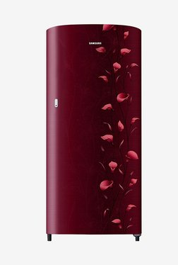 Samsung RR19N2112RZ/NL 192 L 2 Star Direct Cool Single Door Refrigerator (Tender Lily Red)