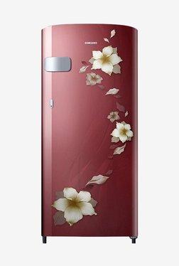 Samsung RR19N2Y12R2/NL 192 L 2 Star Direct Cool Single Door Refrigerator (Star Flower Red)