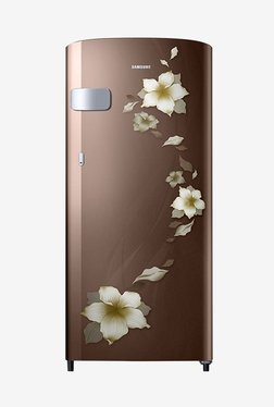 Samsung RR19N2Y22D2/NL 192 L 2 Star Direct Cool Single Door Refrigerator (Star Flower Brown)