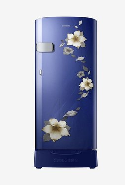 Samsung RR19N1Z22U2/HL 192 L 2 Star Direct Cool Single Door Refrigerator (Star Flower Blue)