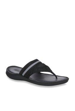 Woodland Black Sandals