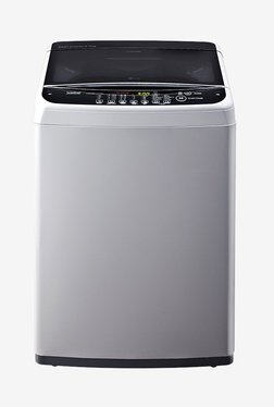 LG T7581NDDLG 6.5 kg Top Loading Fully Automatic Washing Machine (Middle Free Silver)