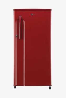LG GL-B191KPRW 188 L Inverter 3 Star Direct Cool Single Door Refrigerator (Peppy Red)