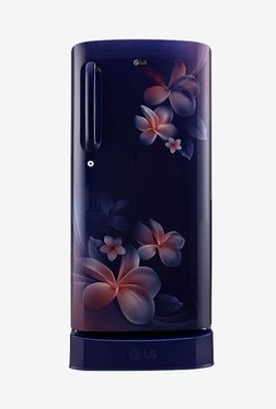 LG GL-D201ABPX 190 L Inverter 4 Star Direct Cool Single Door Refrigerator (Blue Plumeria)