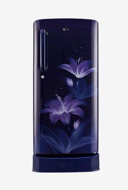LG GL-D221ABGX 215 L Inverter 4 Star Direct Cool Single Door Refrigerator (Blue Glow)
