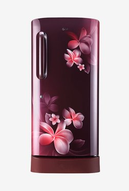 LG GL-D221ASPX 215 L Inverter 4 Star Direct Cool Single Door Refrigerator (Scarlet Plumeria)