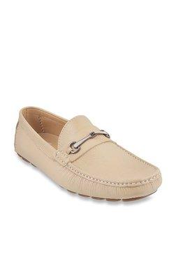 Da Vinchi By Metro Cream Casual Loafers