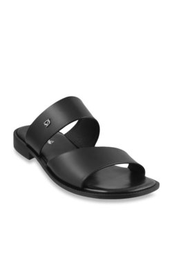 Da Vinchi By Metro Bold Black Casual Sandals
