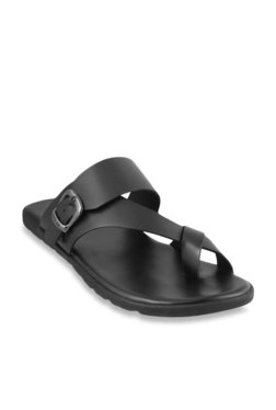 d62a380a9 Mochi Black Cross Strap Sandals