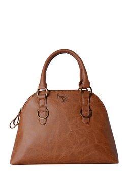 922c8fc220 Baggit Bride Bindas Caramel Brown Distressed Handbag