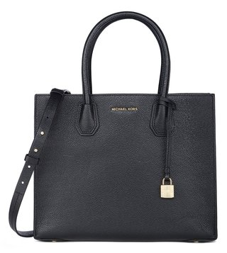 Michael Kors Mercer Large Black Satchel