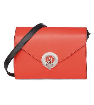 Armani Jeans Rosso Fluo Cross Body Bag