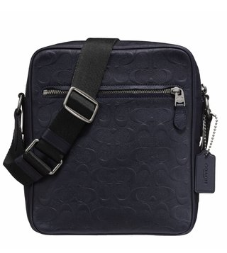 Coach Metropolitan Flight Navy Cross Body Bag