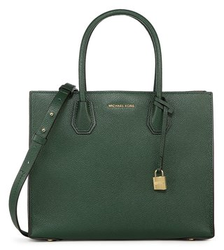 Michael Michael Kors Mercer Moss Large Satchel Bag