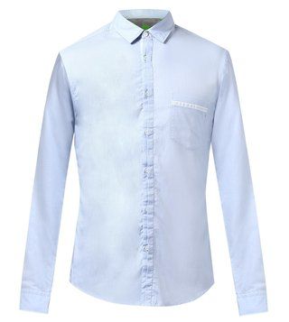 Boss Regular Fit Cotton Shirt 'Barbato'