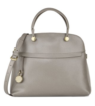 Furla Piper Sabbia Textured Shoulder Bag