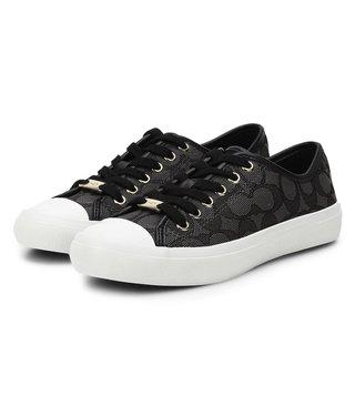 f79aad157431 Coach Empire Black Women Sneakers ...