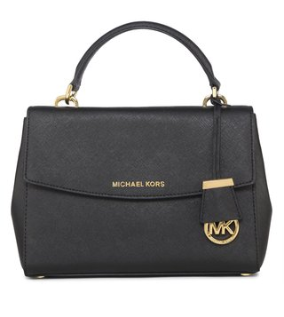 Michael Michael Kors Ava Black Satchel Bag