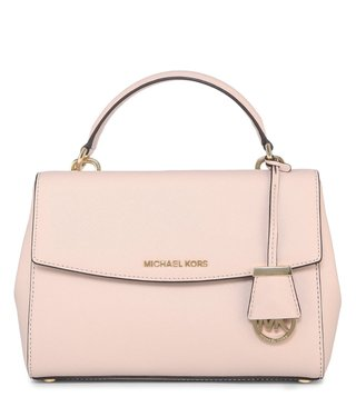 Michael Michael Kors Ava Soft Pink Satchel Bag