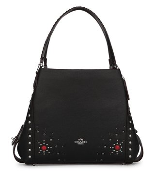 Coach Sv Black Edie 31 Shoulder Bag