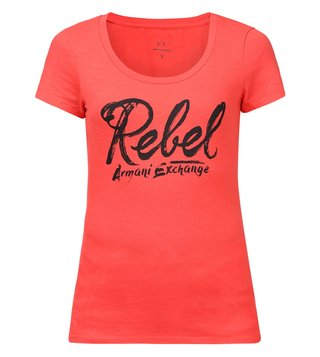 Armani Exchange Coral Short Sleeve T-Shirt