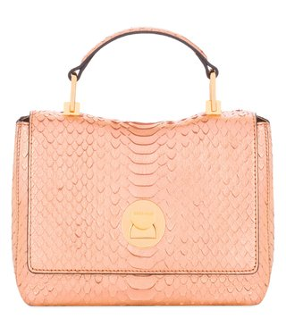 Coccinelle Pink Gold Mini Crossbody Bag