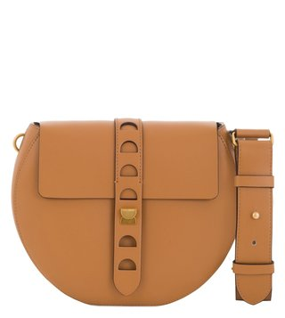 Coccinelle Carousel Cuoio Crossbody Bag