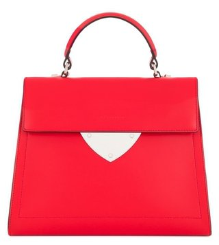 Coccinelle Iconic B14 Design Rosso 215 Satchel Bag