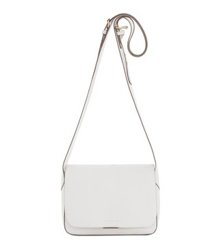 Coccinelle Edit Bianco Shoulder Bag