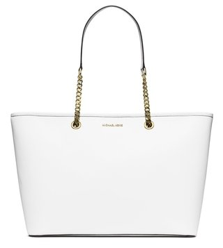 Michael Michael Kors Jet Set Travel Chain Optic Tote